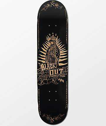 "Blackout Los Muertos 7.75""  Skateboard Deck"