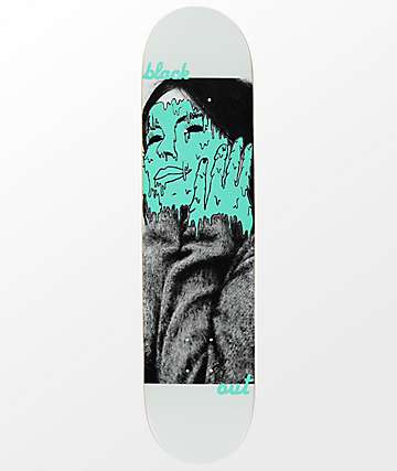 "Blackout Melted Ice 7.75"" Skateboard Deck"