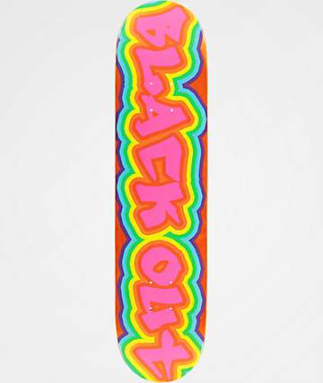 "Blackout Pop Art 7.5"" Skateboard Deck"