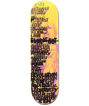 "Blackout Punk Revolution 8.5"" Skateboard Deck"