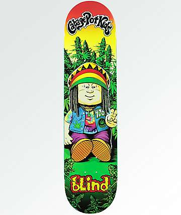 "Blind Cabbage Pot Kids 7.75"" Skateboard Deck"