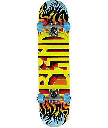 "Blind Fuego Youth 7.0"" Mini Skateboard Complete"