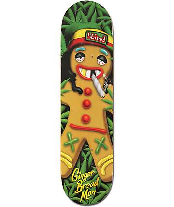 "Blind Ginger Bread Mon 8.0"" Skateboard Deck"
