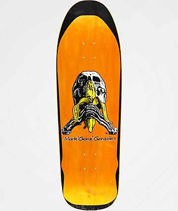 "Blind Mark Gonzales Skull & Banana 9.875"" Skateboard Deck"
