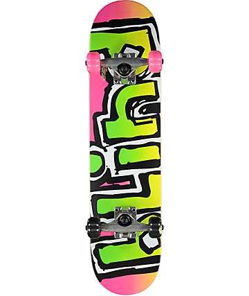 "Blind OG Matte 7.0"" Magenta Mini Skateboard Complete"