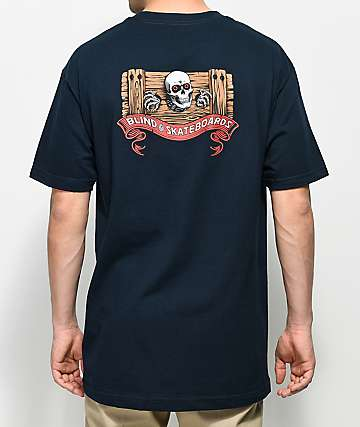 Blind Ripper Navy T-Shirt