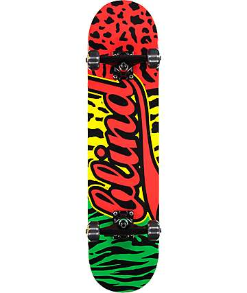 "Blind Wild Athletic 7.625"" Skateboard Complete"