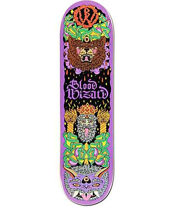 "Blood Wizard Bear 8.25"" Skateboard Deck"