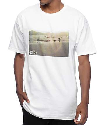 Blood Wizard Desert White T-Shirt