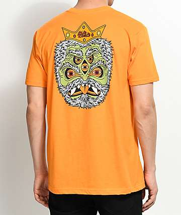 Blood Wizard Friends Of The Forest Goblin camiseta en color naranja