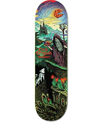 "Blood Wizard Gregson 8.5""  Skateboard Deck"