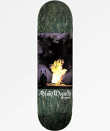 "Blood Wizard Gregson Invocation 8.5"" Skateboard Deck"