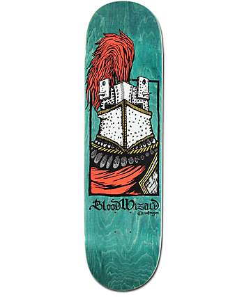 "Blood Wizard Gregson Knight 8.5"" Skateboard Deck"