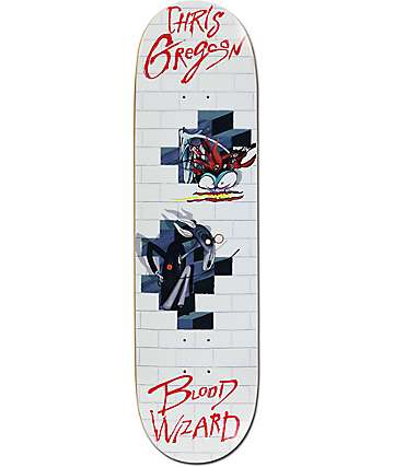 "Blood Wizard Gregson The Wall 8.5""  Skateboard Deck"