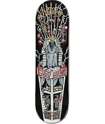 "Blood Wizard Gurney Throne 8.5"" Skateboard Deck"