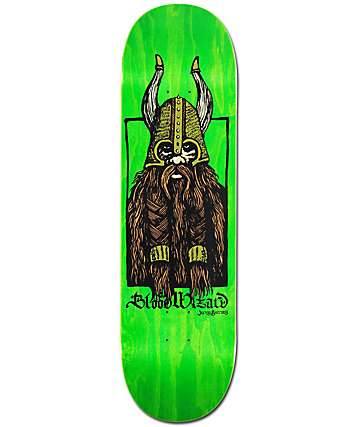 "Blood Wizard Gurney Warrior 8.75"" Skateboard Deck"