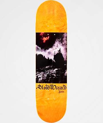 """Blood Wizard Krahn Blood Moon 8.125"""" Skateboard Deck"""