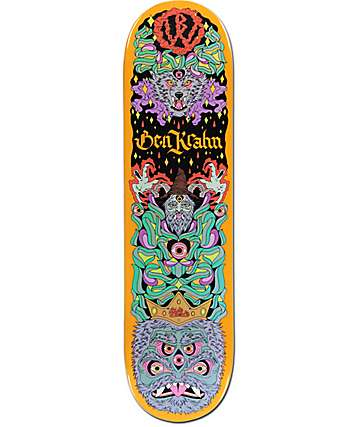 "Blood Wizard Krahn Wolf 8.12"" Skateboard Deck"