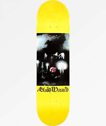 "Blood Wizard Sorcerer 8.25"" Skateboard Deck"