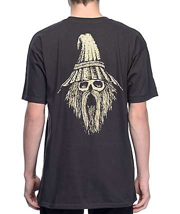 Blood Wizard The Wizard Black T-Shirt