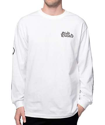 Blood Wizard WSOD White Long Sleeve T-Shirt