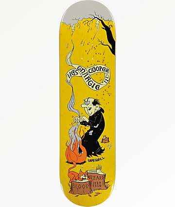 "Blood Wizard Wizards Never Die 8.5"" Skateboard Deck"