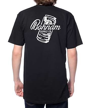 Bohnam 12oz Black T-Shirt