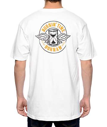 Bohnam Burnin Time camiseta blanca