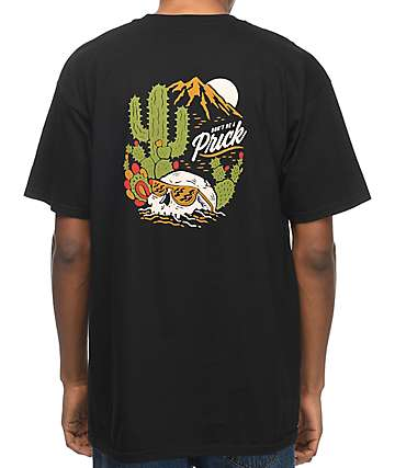 Bohnam Don't Be A Cactus camiseta negra