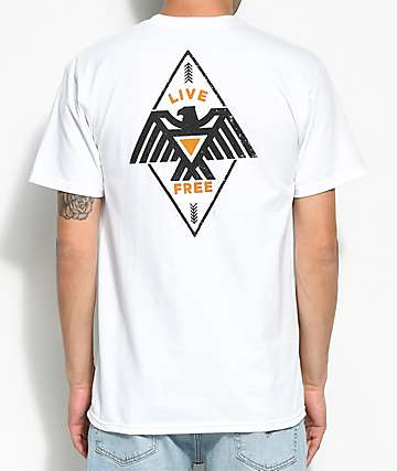 Bohnam Hawkeye camiseta blanca