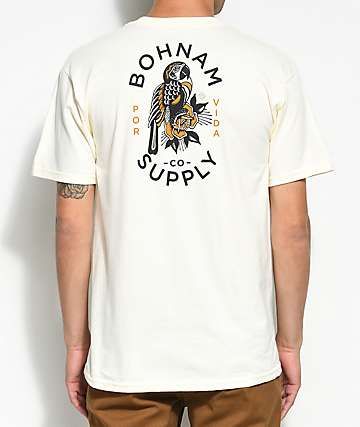 Bohnam Por Vida Off White T-Shirt