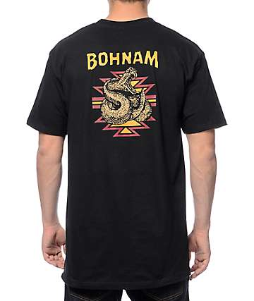 Bohnam Rattle Black T-Shirt