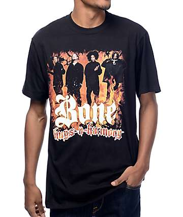 Bone Thugs Fire OG Black T-Shirt