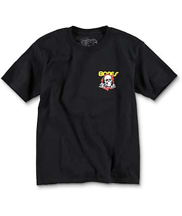 Bones Boys Ripper Black T-Shirt