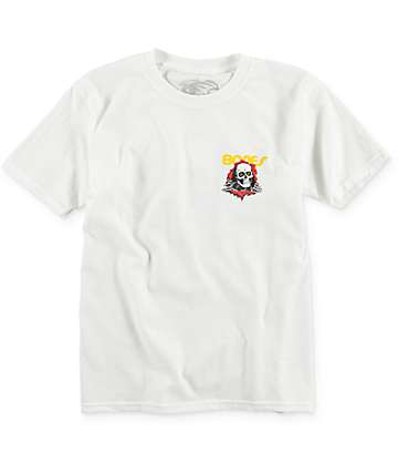 Bones Boys Ripper White T-Shirt