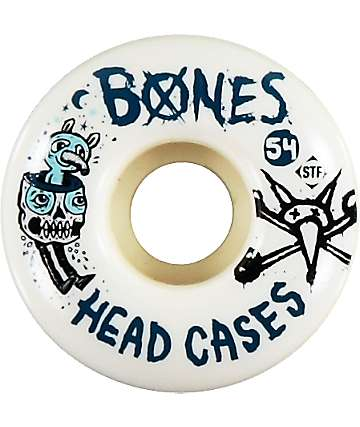 Bones Head Cases 54mm STF Skateboard Wheels