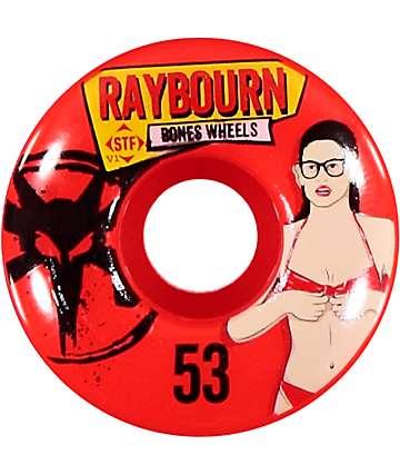 Bones Raybourn Phoebe STF Pro 53mm Skateboard Wheels