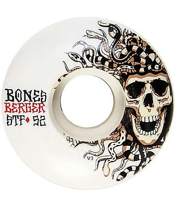 Bones STF Pro Berger Medusa 52mm Skateboard Wheels
