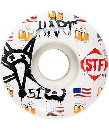 Bones STF Pro Hart Cheers 51mm Skateboard Wheels