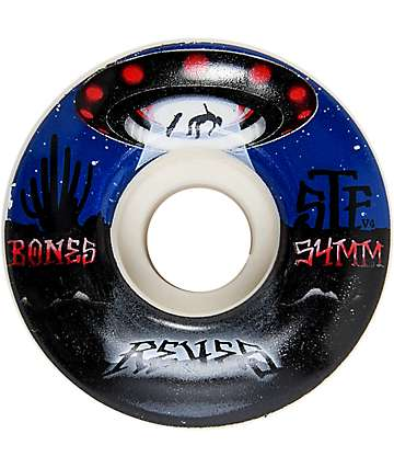 Bones STF Pro Reyes Abducted 54mm Skateboard Wheels