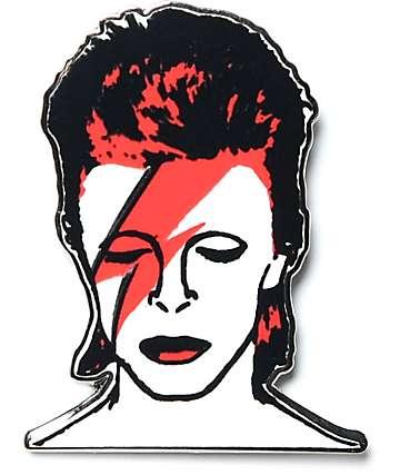 Bowie Bolt broche