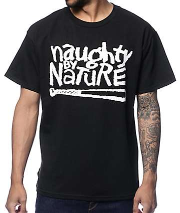 Bravado Naughty By Nature Black T-Shirt