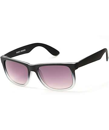 Bravo Matte Black & Grey Sunglasses