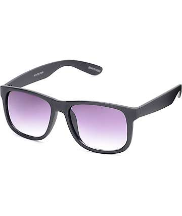 Bravo Smooth Matte Black Sunglasses