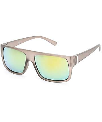 Brinx Grey & Yellow Revo Sunglasses