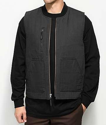 Brixton Abraham Charcoal Vest
