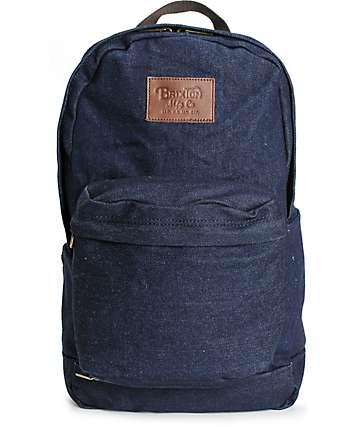 Brixton Basin Denim Backpack