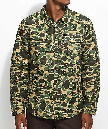 Brixton Cass Camo Jacket
