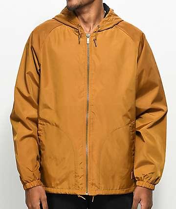 Brixton Claxton Copper chaqueta contravientos con capucha