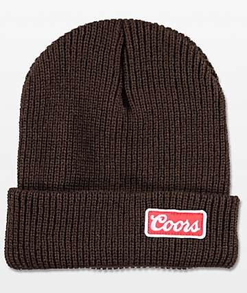 Brixton Coors Brown Gas Station Beanie